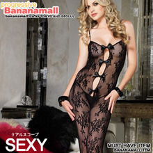 [���� ����] BOUQUET (LACE BODYSTOCKING (LA89063)